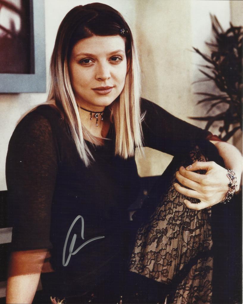 Amber Benson Autograph