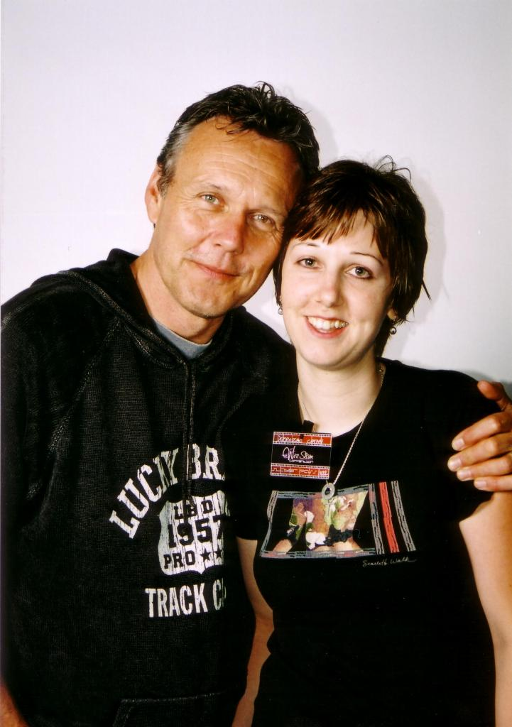 Anthony Stewart Head and Me at a Convention in Paris