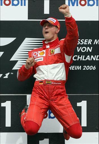 Michael Schumacher - 7 times worldchampion Formula 1