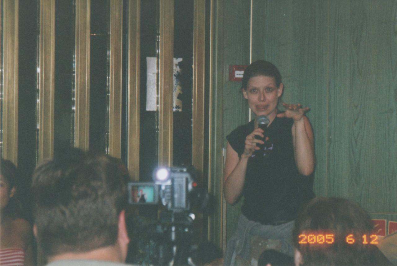 SC 2005 Amber Benson at Group Q&A