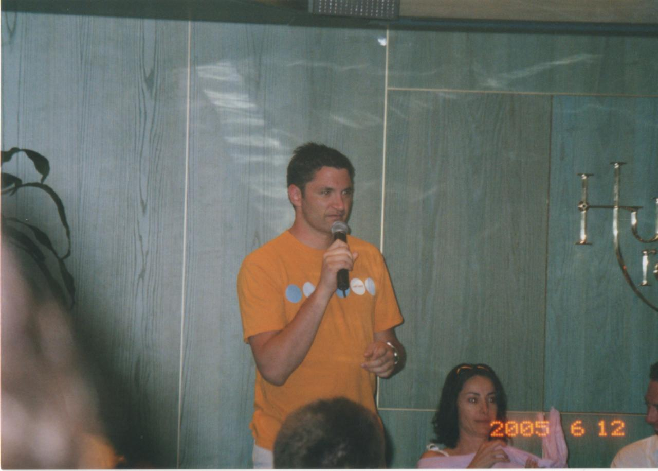 SC 2005 Andy Hallet at Group Q&A