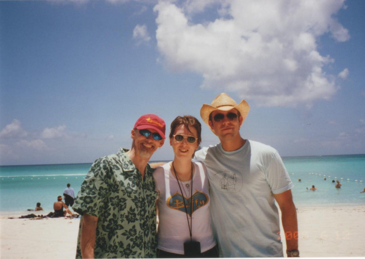 SC 2005 Camden Toy, James Leary & I on the beach