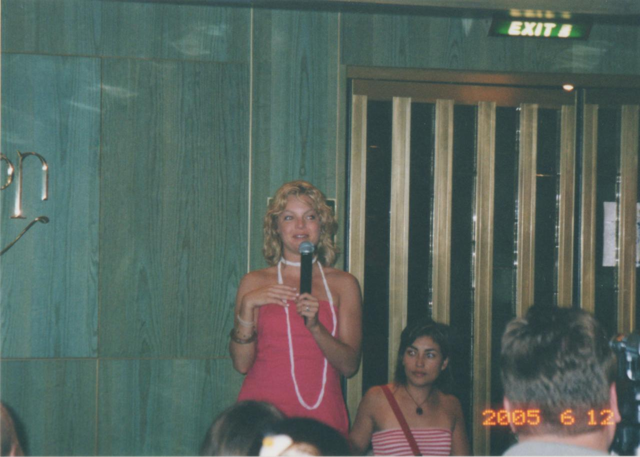 SC 2005 Clare Kramer at Group Q&A