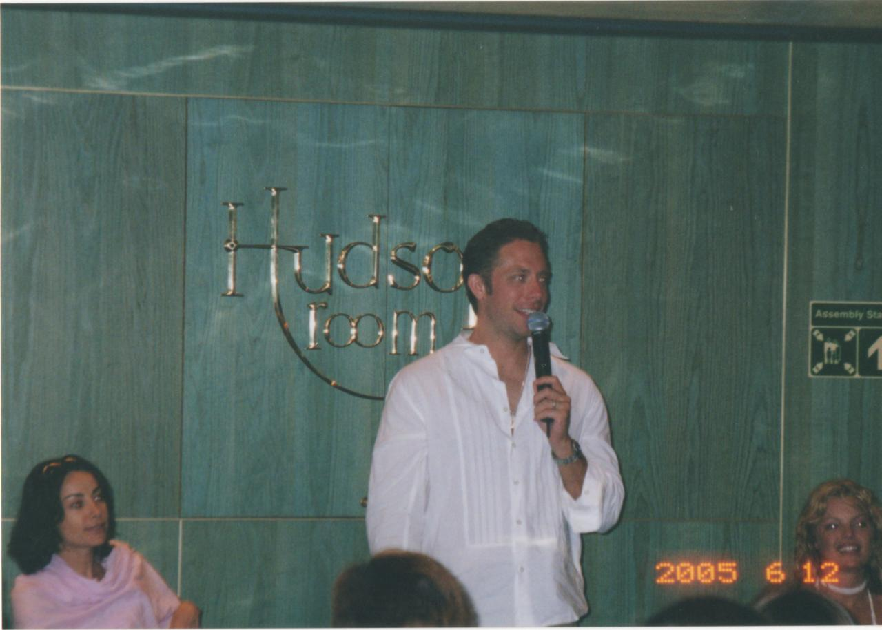 SC 2005 James Leary at Group Q&A