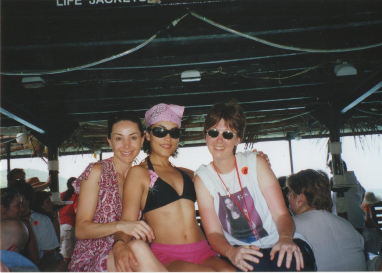 SlayerCruise 2005 Robia, Iyari & I