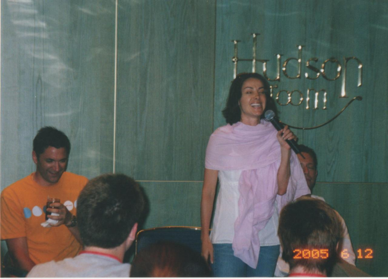 SC 2005 Robia LaMorte at Group Q&A