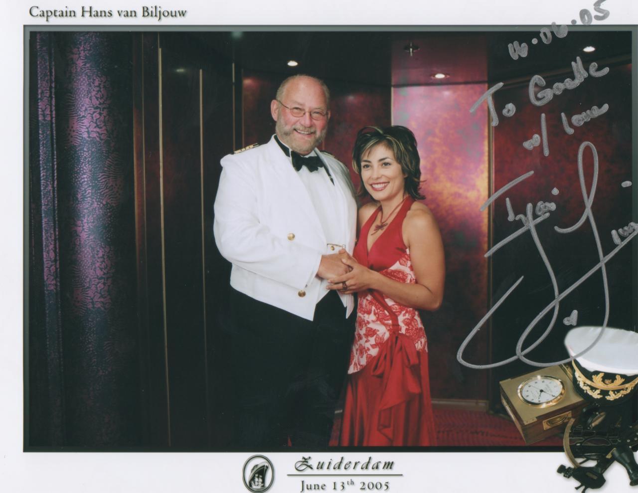 SlayerCruise 2005 Iyari Limon Autograph