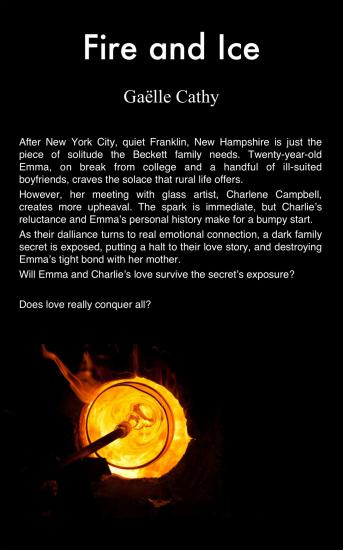 Fire and ice cover back